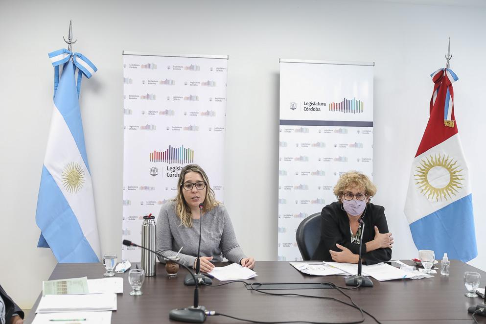 Legisladora Gudiño y subsecretaria Mariana Vig