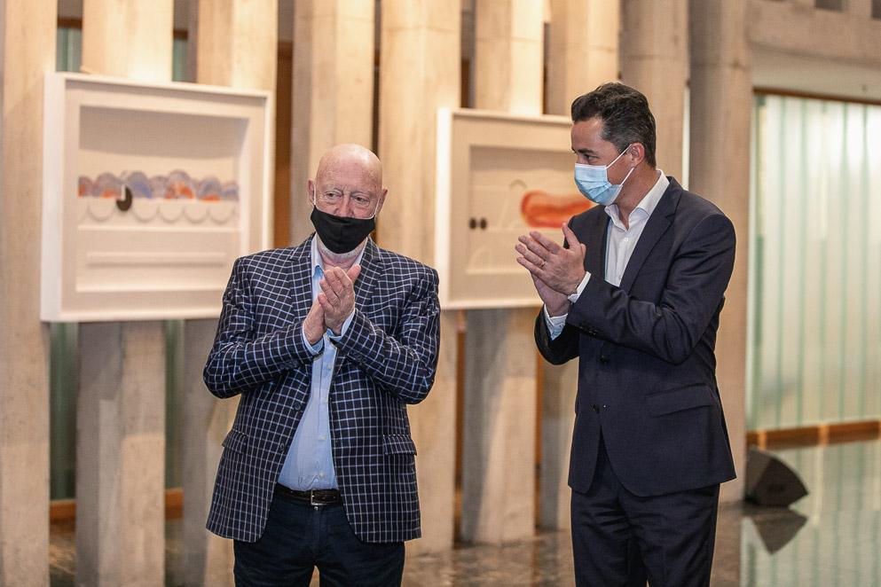 La Legislatura exhibe su primera muestra de arte