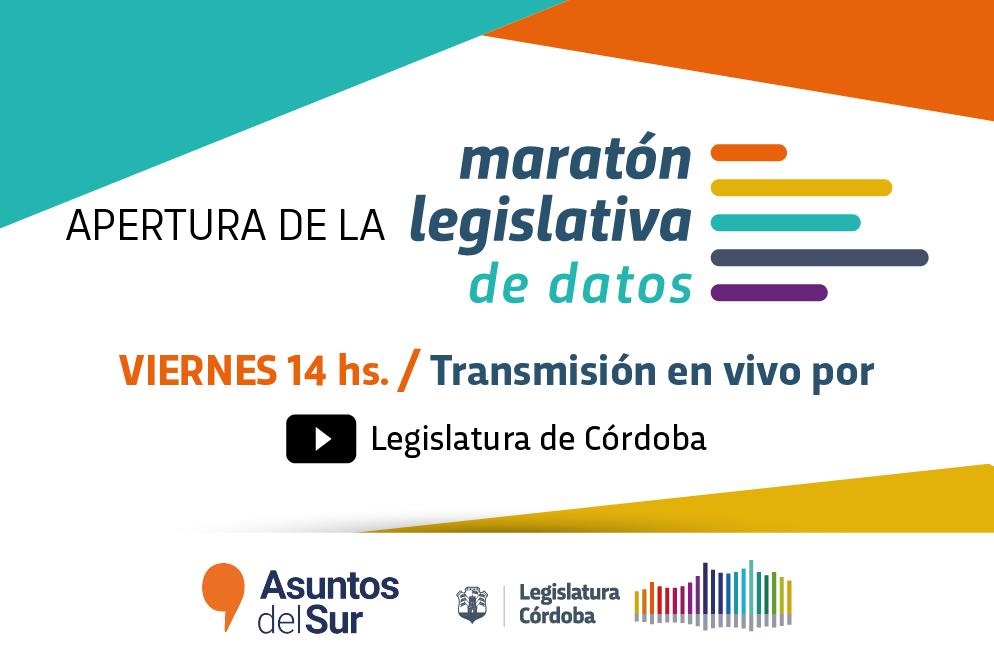 Apertura de Maratòn Legislativa de Datos